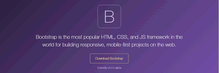 Bootstrap 4 alpha is now available