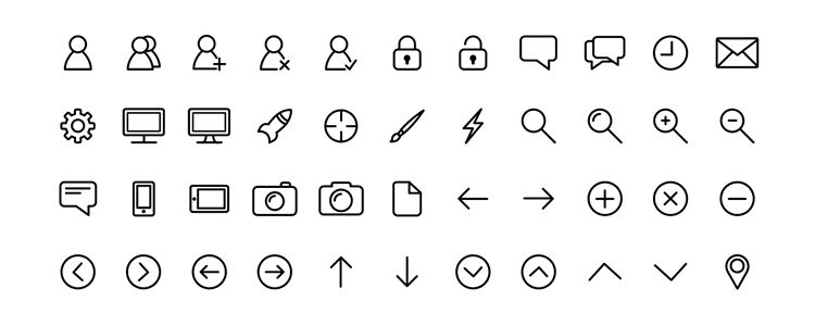 SomIcons Line/Stroke Icons