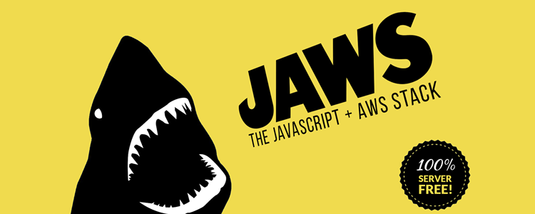 """></noscript><strong>JAWS Javascript AWS Stack""""/></p> <p style="""