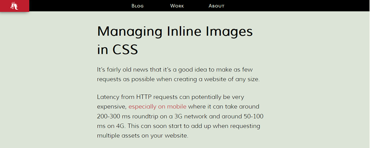 Managing Inline Images in CSS