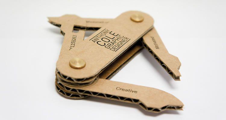 Business Army Knife Card