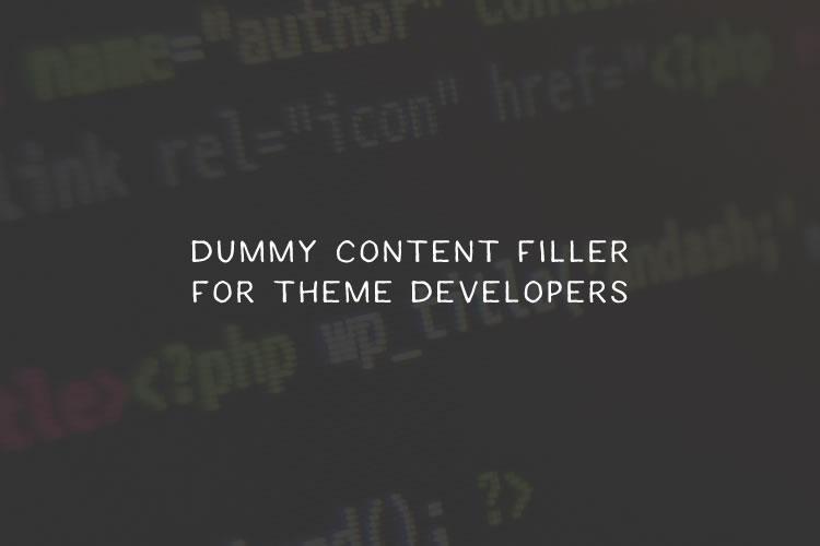 dummy-filler
