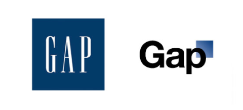 retailer Gap introduced a new logo
