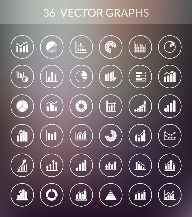 black white data vector chart graph illustrator svg photoshop psd