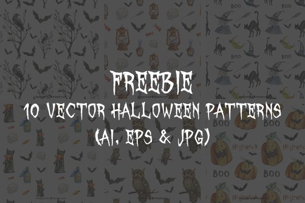 vector-halloween-patterns