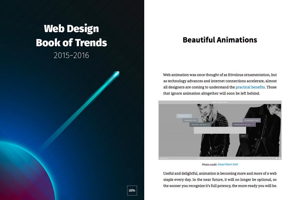 Web Design Trends 2015-2016 free ebook
