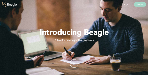Beagle page-by-page navigation long-scrolling format