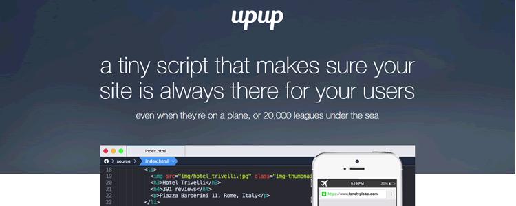 UpUp tiny script