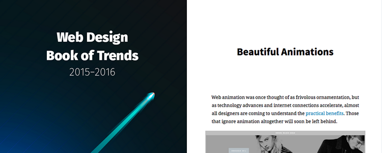 Web Design Trends 2015-2016