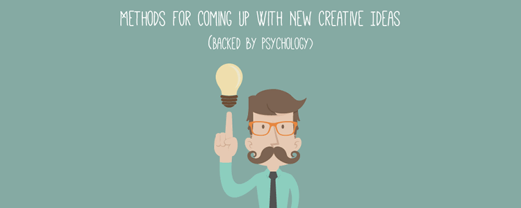 7 Ways to Come Up With New Creative Ideas
