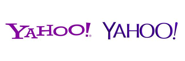 Yahoo introduced a new version of their logo