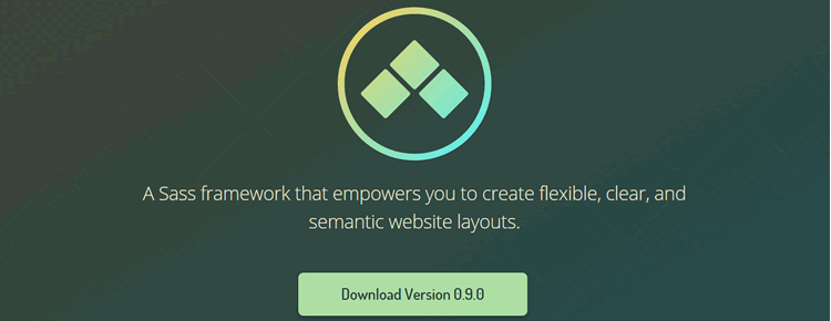 Sass framework creating flexible semantic web layouts Neutron