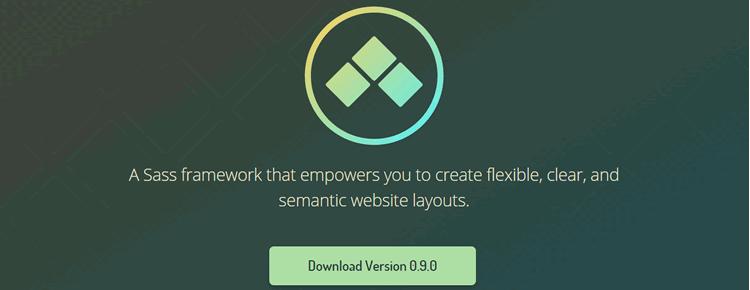 Sass framework creating flexible semantic web layouts Neutron
