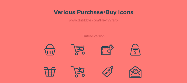 Freebie Various Purchase Buy Icons