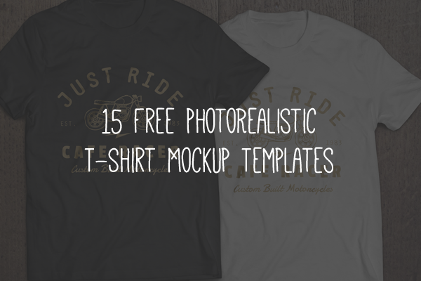15 free high resolution t shirt mockup templates