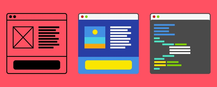 UX UI Frontend Dev Icons