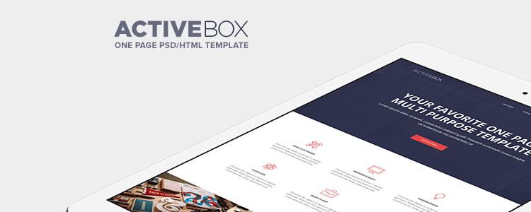ActiveBox html5 şablon web sitesi ücretsiz yanıt veriyor