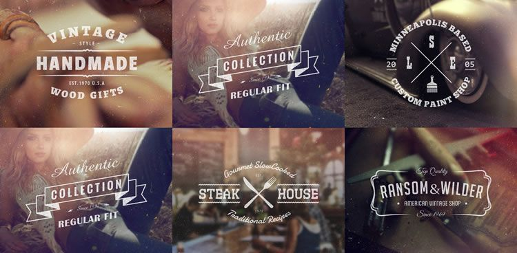 Free Vintage Logo Template Collections
