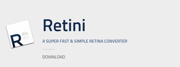Retini simple retina converter