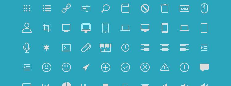 Icono pure CSS icons