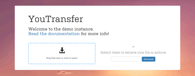 Youtransfer elegant self-hosted file transfer