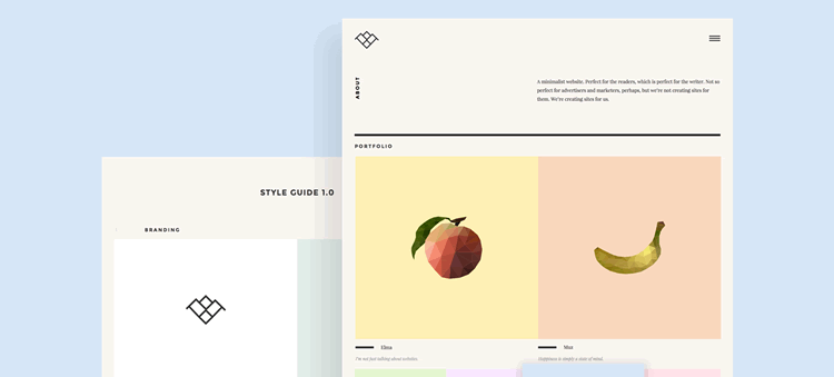 Ardi Agency Sketch Theme