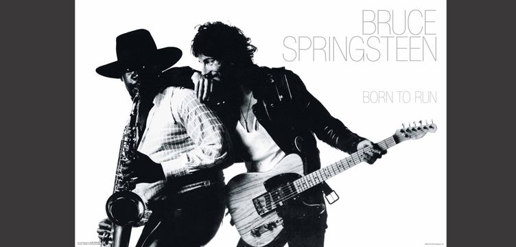 Born to Run Bruce Springsteen album cover art