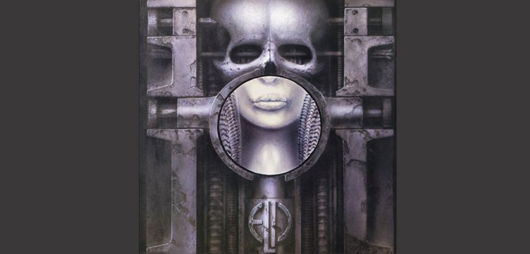 Brain Salad Surgery album cover art Emerson Lake Palmer