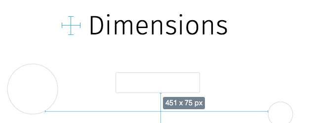 Dimensions chrome extension web designer
