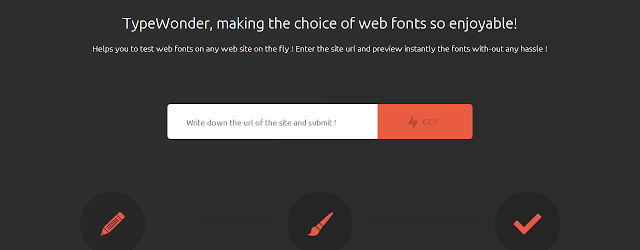 TypeWonder web developer extension chrome
