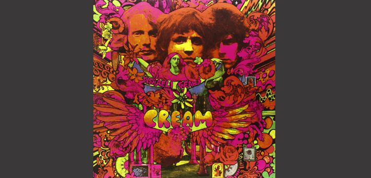 Cream Disraeli Gears album cover art