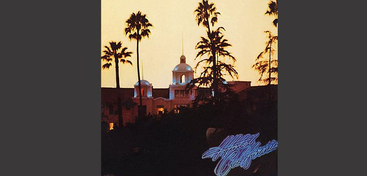 Hotel California The Eagles album cover art
