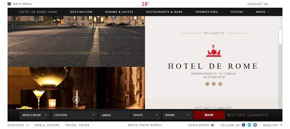 perfect example expertly executed scrolling hotel de rome