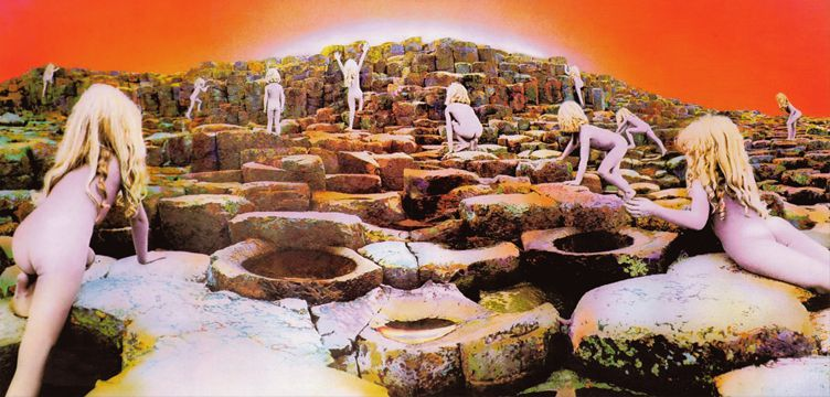 Houses of the Holy album cover art Led Zeppelin