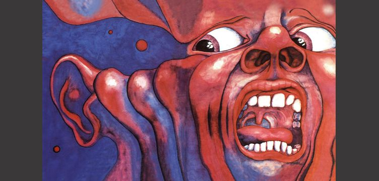 In The Court Of The Crimson King album cover art