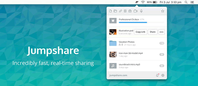 jumpshare realtime sharing sketch app