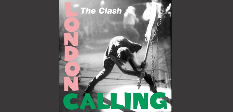 London Calling album cover art