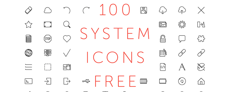 top 50 free icon sets from 2015