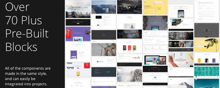 top 50 free web ui kits templates for 2018