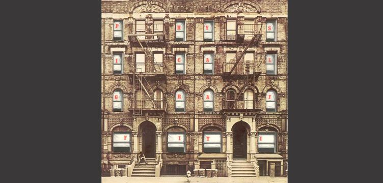 Physical Graffiti Led Zeppelin album cover art