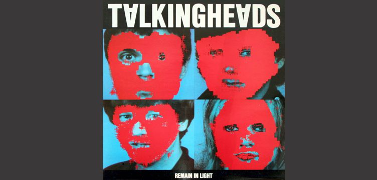 Remain in Light Talking Heads album cover art