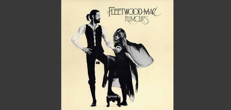 Rumours album cover art Fleetwood Mac