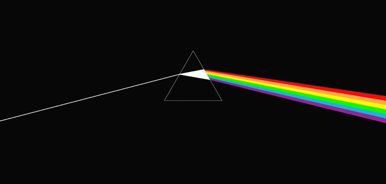 The Dark Side Of The Moon album cover art Pink Floyd
