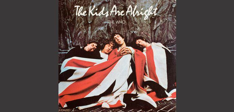 The Kids Are All Right album cover art The Who