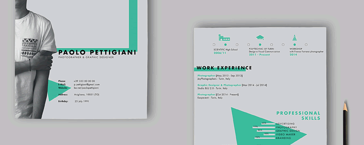 20 Beautiful Free Resume Templates Designers