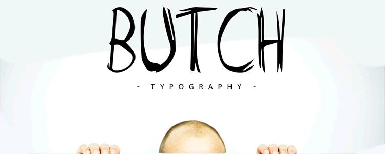 Freebie Butch Marker Typeface