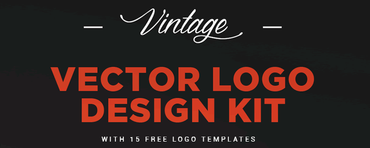 Freebie Vintage Logo Kit