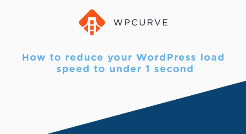 WordPress Speed Infographic