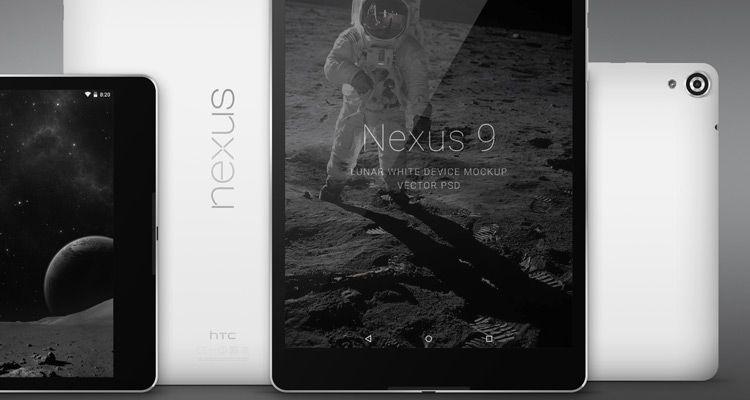 nexus9 device mockup