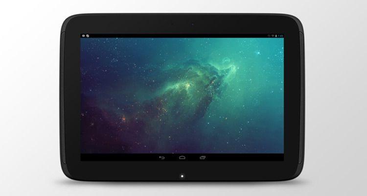 nexus10 tablet mockup psd